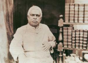 Srila Bhaktivinoda Thakura Beside Books