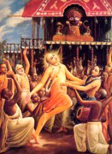 Lord-Chaitanya-at-Rathyatra