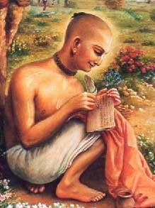 Srila_Rupa_Gosvami_writing
