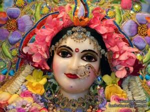 Srimati Radharani ISKCON Vrindavan - Full of Mercy