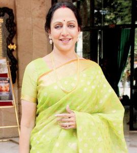 Hema Malini at ISKCON Juhu