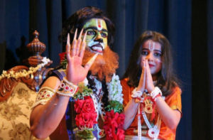 Narasimha and Prahlada in drama