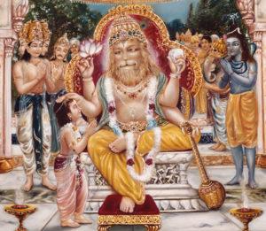 Prahlada and Narasimha