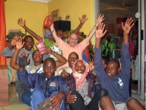 GRS with Youth in Soweto 12.2009