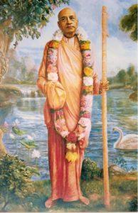 Srila Prabhupada as a Sannyasi