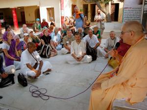 11.15.13 Vrindavan, russian devotees