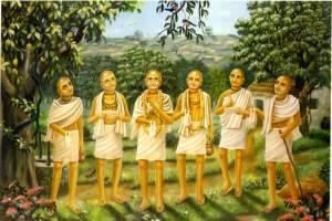 The-Six-Gosvamis-of-Vrndavana