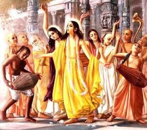 Lord Chaitanya kirtan
