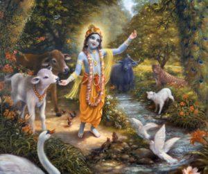 Krishna-with-the-animals-of-Vrindavan-300x251