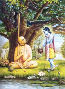 Sri-Madhavendra-Puri-and-Krishna