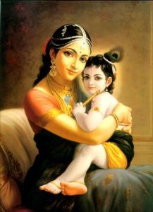 Yasoda, Krishna
