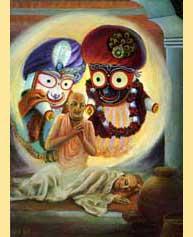 Jagannatha-and-Balarama-and-Pundarika-Vidyanidhi