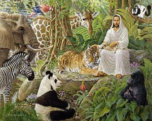 Jesus-with-Animals